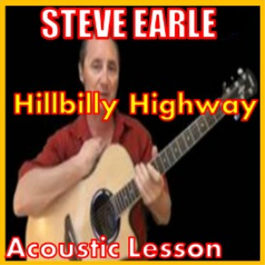 learn to play hillbilly highway by steve earle