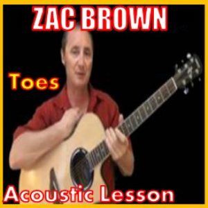 learn to play toes by zac brown band