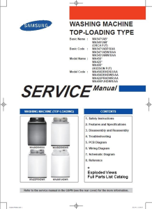 samsung wa456drhdwr wa456drhdsu washing machine service manual