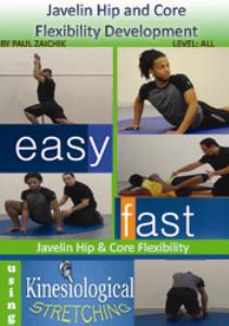 javeline lower body flexibility
