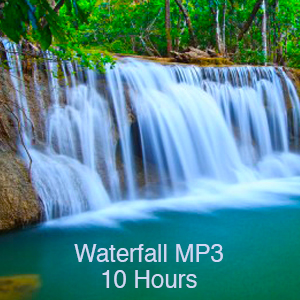 relaxing waterfall mp3 (10 hours)