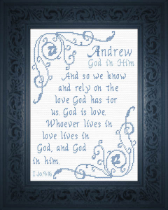 Name Blessings - Andrew 5 | Crafting | Cross-Stitch | Other