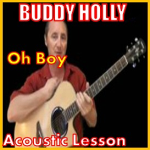 learn to play oh boy by buddy holly