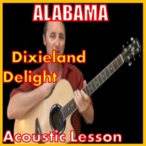 learn to play dixieland delight by alabama