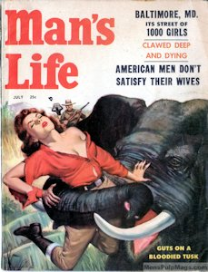 man's life magazine, july 1957 (complete issue)