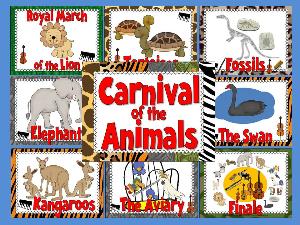 carnival of the animals bulletin board