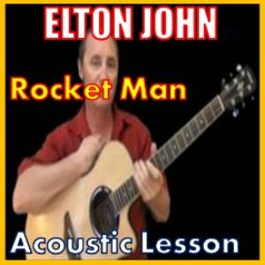 learn to play rocket man by elton john