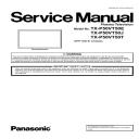 Panasonic TX-P50VT50E TV Original Service Manual and Repair Guide | eBooks | Technical