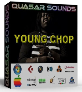 young chop  drum & sound kit   trap samples
