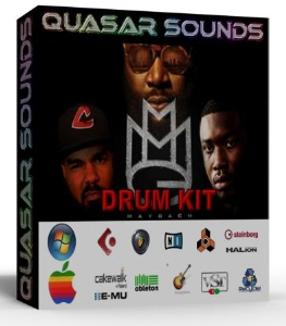 mmg drum kit    rick ross