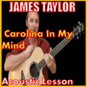 learn to play carolina in my mind by james taylor