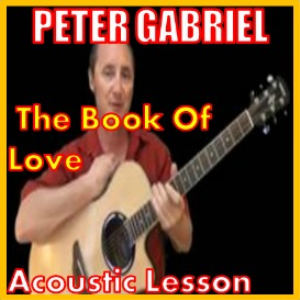learn to play the book of love by peter gabriel