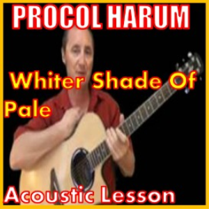 learn to play whiter shade of pale by procol harum
