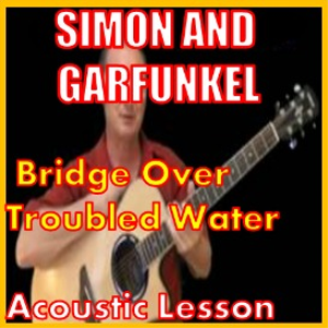 learn to play bridge over troubled water by simon and garfunkel