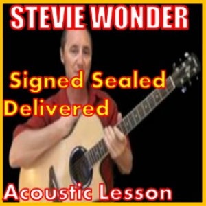 learn to play signed sealed delivered by stevie wonder