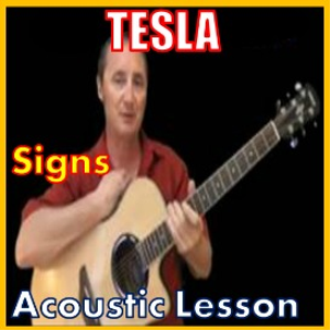 learn to play signs by tesla