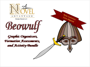 Beowulf  Activity Bundle | Documents and Forms | Presentations