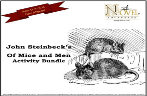 Of Mice and Men Activity Bundle | Documents and Forms | Presentations