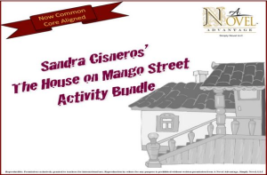 the house on mango street activity bundle