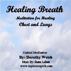 healing meditation for chest and lungs