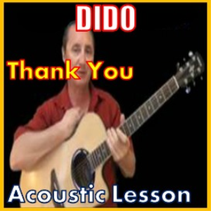 learn to play thank you by dido