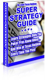 poker strategies kit for winning