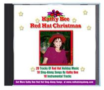 kathy bee red hat christmas