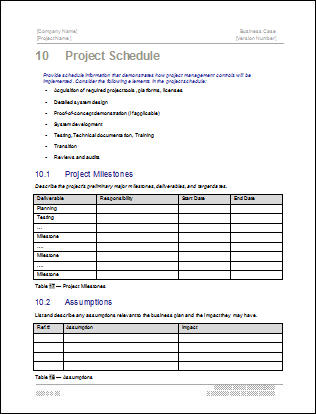 Third Additional product image for - Business Case Template
