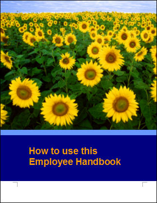 First Additional product image for - Employee Handbook Template