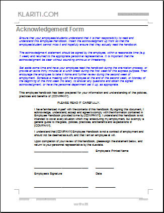 Third Additional product image for - Employee Handbook Template