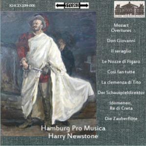 mozart overtures - hamburg pro musica/harry newstone