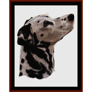 Dalmatian - Robert J. May cross stitch pattern by Cross Stitch Collectibles | Crafting | Cross-Stitch | Wall Hangings