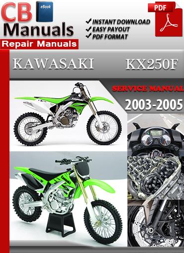 Kawasaki 2011 2012 KX250F Service Repair Manual Book Service