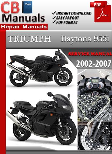 triumph daytona race manual