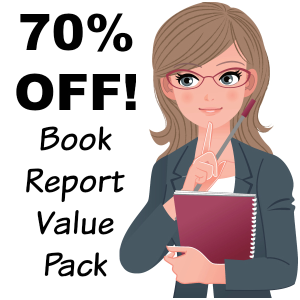 70% off value pack: 27 book report projects/14 free gifts