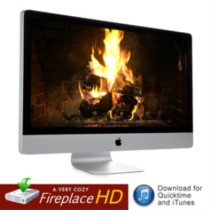 HD Fireplace Video for QuickTime, AppleTV, iTunes | Movies and Videos | Miscellaneous