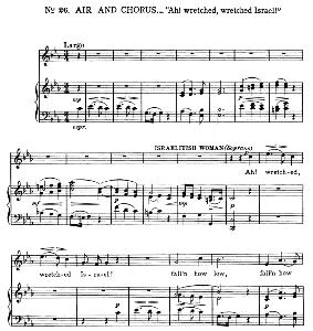 Ah! wretched, wretched Israel! Aria for Soprano. G.F.Haendel: Judas Maccabaeus, HWV 63. Vocal Score, Ed. Schirmer | eBooks | Sheet Music
