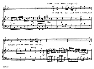 oh grant it, heav'n...so shall the lute and harp awake. recitative and aria for soprano,g.f.haendel: judas maccabaeus, hwv 63. vocal score, ed. schirmer