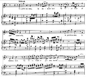 Capricious man, in humour lost (Soprano Aria: Merab). G.F.Haendel: Saul, HWV 53.Vocal Score (G.Gervinus), Ed. Peters  (1925) | eBooks | Sheet Music