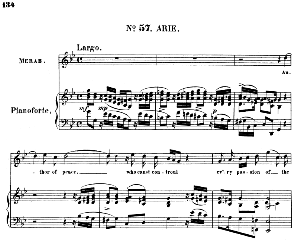 mean as he was,...author of peace, who cans't control: recitative and aria for soprano (merab). (g.f.haendel: saul, hwv 53.vocal score (g.gervinus), ed. peters  (1925.