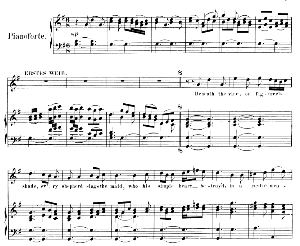no more shall armed hands...beneath the vine or figtree's shade...recitative and aria for soprano (first woman). g.f.haendel: solomon, hwv 67. vocal score (g.gervinus), ed. peters, pd