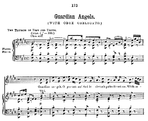 Guardian angels. Aria for Soprano. G.F.Haendel: The triumph of Time and Truth, HWV 71. Vocal Score (W.T.Best), Ed. Boosey & co (1870). PD | eBooks | Sheet Music