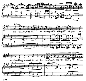 Subtle love, with fancy viewing rapt'rous joy. Aria for Soprano. G.F.Haendel: Alexander balus, HWV 65, Vocal Score. Schirmer Anthology of Sacred Song: Soprano (M. Spicker). Ed. Schirmer (PD) | eBooks | Sheet Music