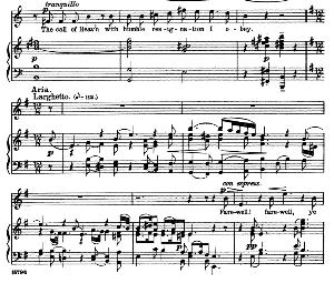 Ye sacred priests!...Farewell, ye limpid springs and floods. Recitative and Aria for Soprano. G.F.Haendel: Jephta, HWV 70, Vocal Score. Schirmer Anthology of Sacred Song: Soprano (M. Spicker). Ed. Schirmer (PD) | eBooks | Sheet Music