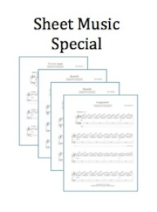 7 pack - sheet music