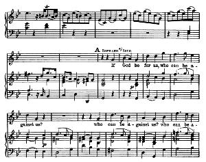 if god be for us, who can be against us. aria for soprano. g.f.haendel: messiah, hwv 56. vocal score, ed. schirmer  (spicker-noble). 1912