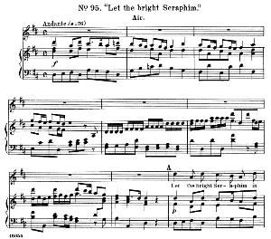 Come, come, no time...Let the bright Seraphim. Recitative and Aria for Soprano  (israelite woman). G.F.Haendel: Samson, HWV 57.Vocal Score, Ed. Schirmer  (1900) | eBooks | Sheet Music