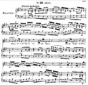 happy, oh, thrice happy we. aria for soprano (achsah). g.f.haendel: joshua, hwv 64. vocal score (g.gervinus), ed. peters, pd