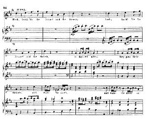 Hark, hark! 'tis the linnet. Aria for Soprano (Achsah). G.F.Haendel: Joshua, HWV 64. Vocal Score (G.Gervinus), Ed. Peters. PD | eBooks | Sheet Music