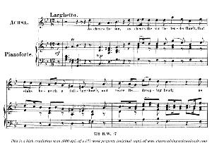 Indulgent heav'n had heard...As chears the sun the tender flow'r. Recitative and Aria for Soprano (Achsah). G.F.Haendel: Joshua, HWV 64. Vocal Score (G.Gervinus), Ed. Peters. PD. | eBooks | Sheet Music
